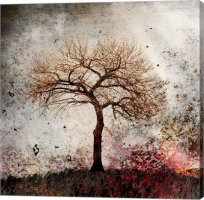 Metaverse Art Cottonwood Tree Part 9 Gallery Wrap Canvas Wall Art