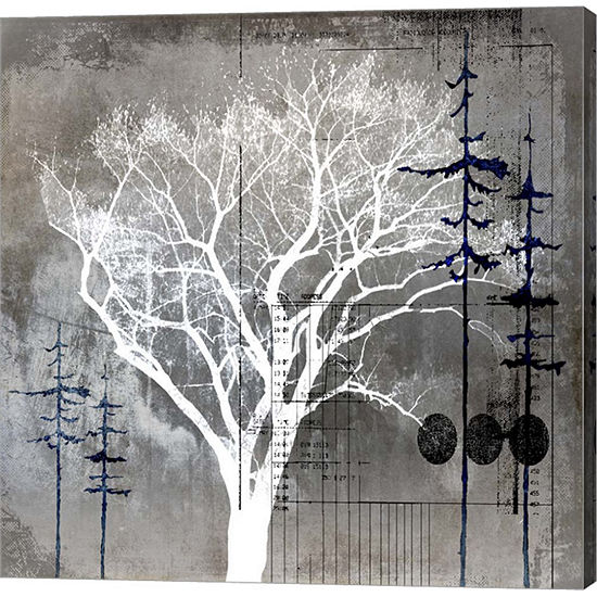 Metaverse Art July Tree 8 Gallery Wrap Canvas Wall Art