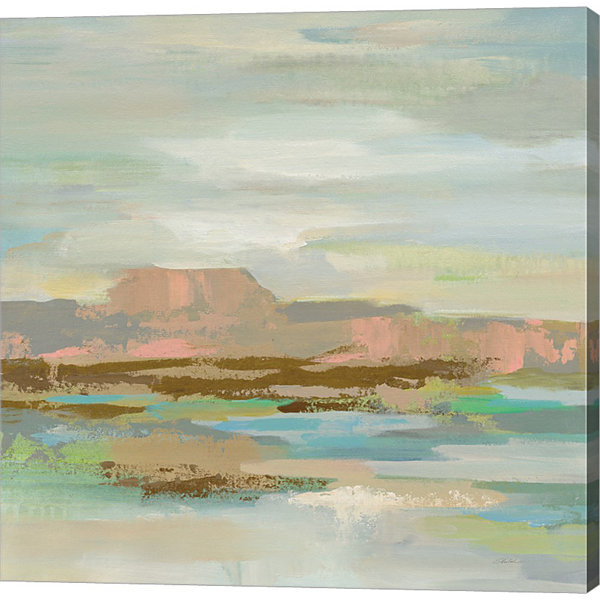Metaverse Art Spring Desert II v2 Gallery Wrap Canvas Wall Art