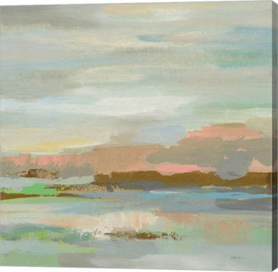 Metaverse Art Spring Desert I v2 Gallery Wrap Canvas Wall Art