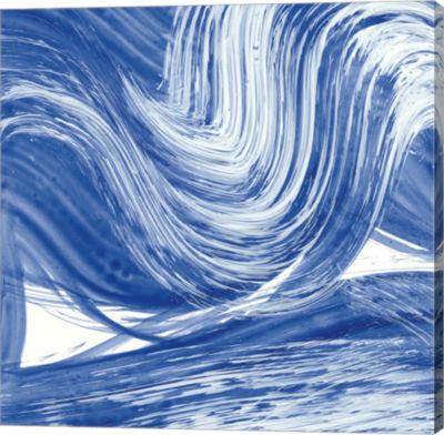 Metaverse Art Swirl III Gallery Wrap Canvas Wall Art