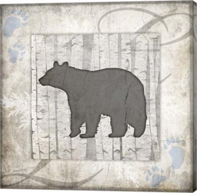 Metaverse Art Decorative Lodge Bear 2B Gallery Wrap Canvas Wall Art