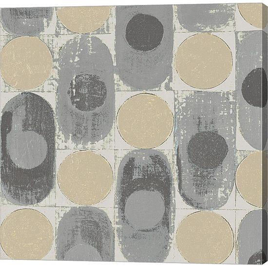 Metaverse Art 16 Blocks Square XVI Archroma Gallery Wrap Canvas Wall Art