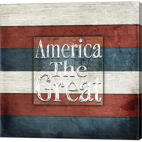 Metaverse Art American Freedom Collection 5 Gallery Wrap Canvas Wall Art