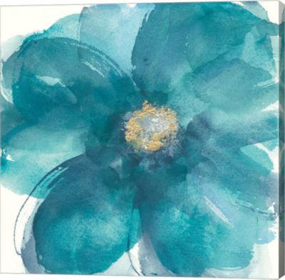 Metaverse Art Bloom Beauty II Gallery Wrap Canvas Wall Art