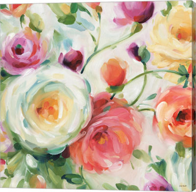 Metaverse Art Florabundance IV Gallery Wrap Canvas Wall Art
