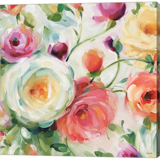 Metaverse Art Florabundance IV Gallery Wrap Canvas Wall Art