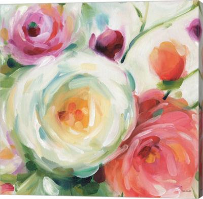 Metaverse Art Florabundance II Gallery Wrap Canvas Wall Art