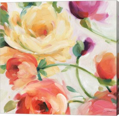 Metaverse Art Florabundance III Gallery Wrap Canvas Wall Art