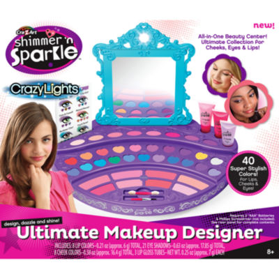Cra-Z-Art Shimmer 'N Sparkle Crazy Lights UltimateMake Up Designer Kit