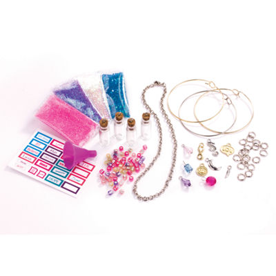 Cra-Z-Art Shimmer 'N Sparkle Pixie Dust Treasure Charms Craft Kit