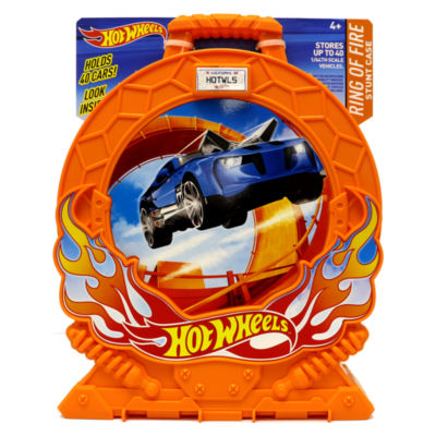 Hot Wheels Ring Of Fire Stunt Case