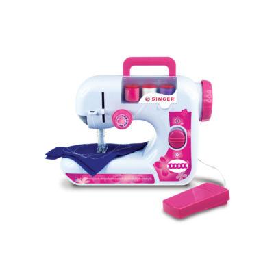 NKOK B/O Singer  EZ-Stitch (Chainstitch) Sewing Machine w/ Foot Pedal