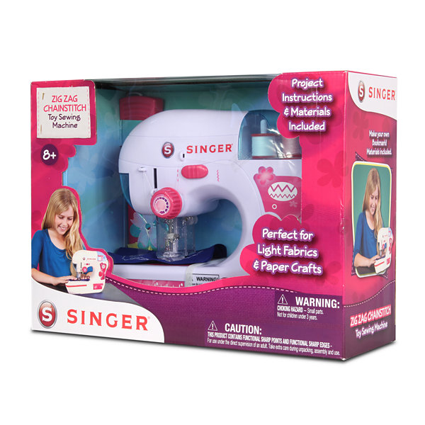 Nkok B/O Singer Zigzag Chainstitch Sewing Machine W/ Foot Pedal