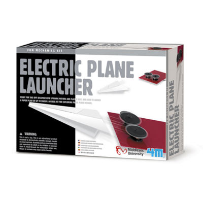 4M Electric Plane Launcher Science Kit - Stem