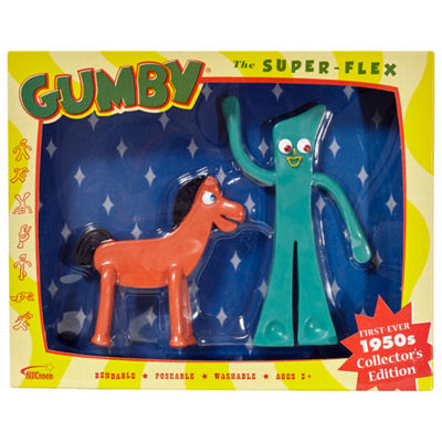1950s Gumby & Pokey Bendable Figures