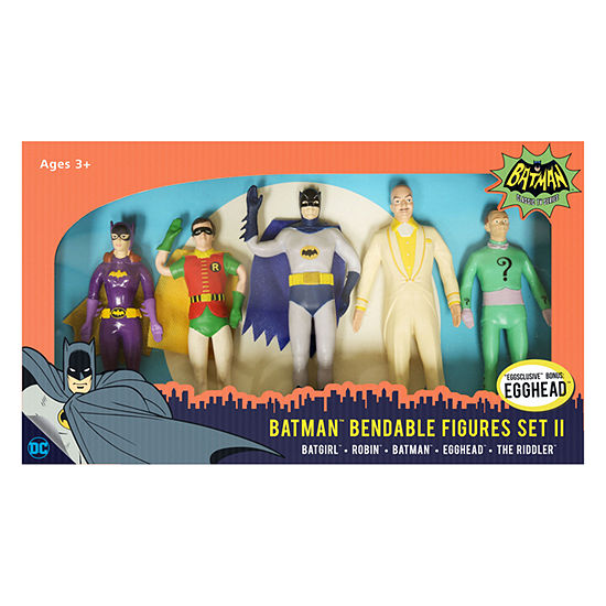 DC Comics - Batman Classic TV Series Bendable Figures Set II