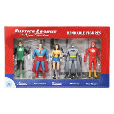 Dc Comics - Justice League The New Frontier Mini Bendable 5 Piece Figure Set