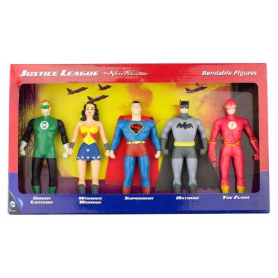 DC Comics Justice League: The New Frontier 5-Piece Bendable Figure Set