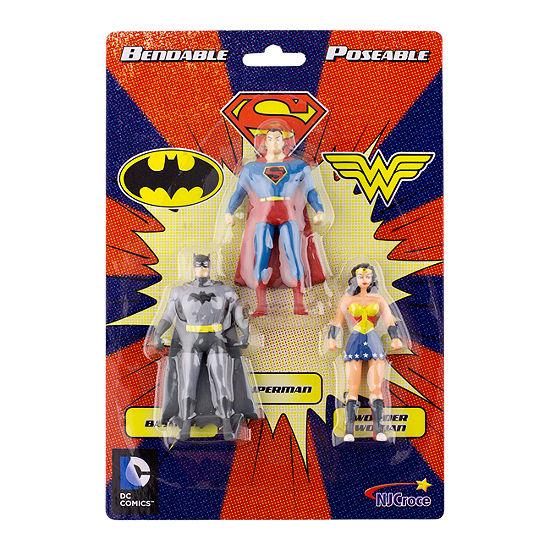Mini 3-Pack Of Figures: Batman- Superman- Wonder Woman