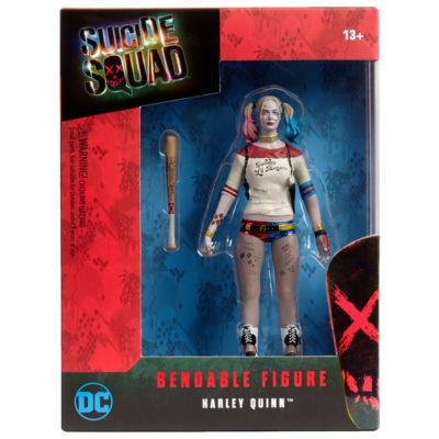 DC Comics Suicide Squad Harley Quinn Bendable Figure