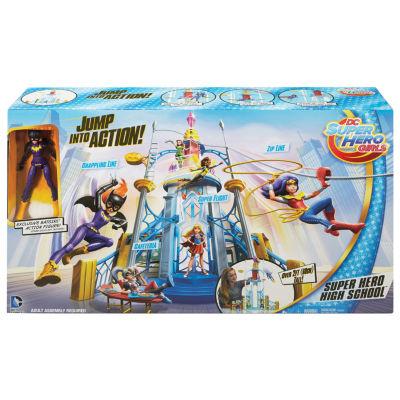 Dc Super Hero Girls Super Hero High School PlaysetW/ Batgirl Action Figure