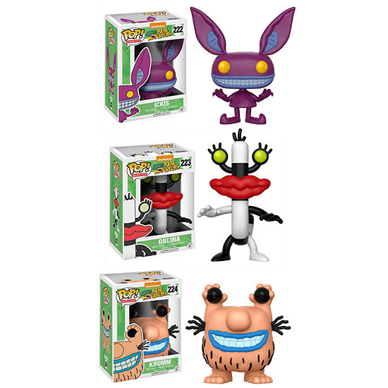 Funko POP! Animation Aaahh!!! Real Monsters Collectors Set; Ickis- Oblina- Krumm
