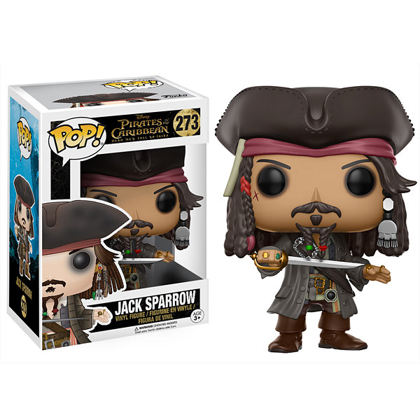Funko POP! Disney Pirates of the Caribbean Collectors Set; Jack Sparrow- Captain Salazar- Ghost of Will Turner