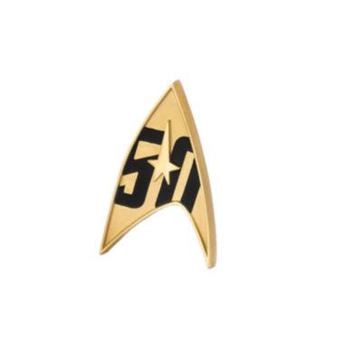 Quantum Mechanix Star Trek 50th Anniversary Magnetic Badge