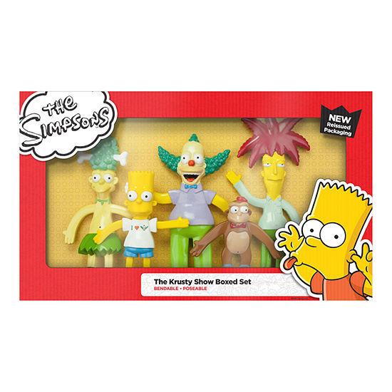 Krusty Show Bendable Figures Set