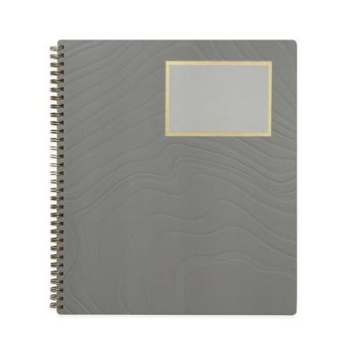 Russell+Hazel® Single Subject Notebook Charcoal