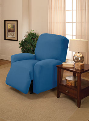 Stretch Jersey Slipcover Large Recliner