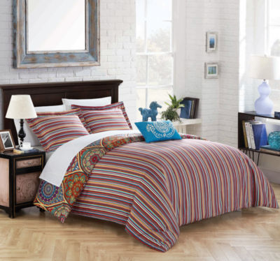 Chic Home Shulamit 8-pc. Duvet Cover Set