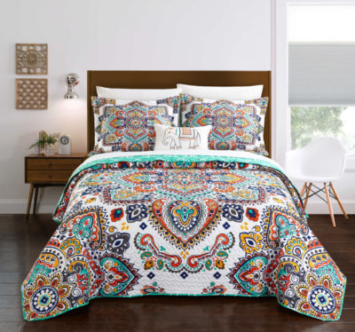Chic Home Chagit 8-pc. Quilt Set