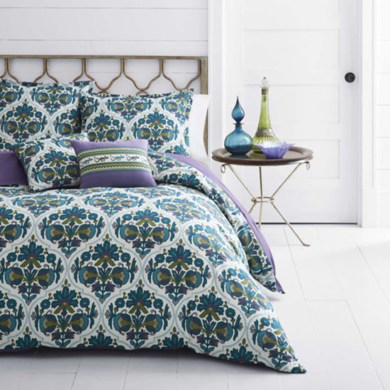 Azalea Skye Luna Blue Duvet Cover Set