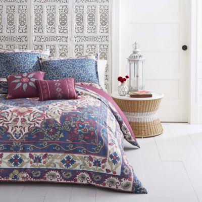 Azalea Skye Zahra Blue Comforter Set