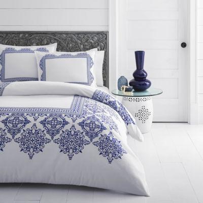 Azalea Skye Cora White Comforter Set