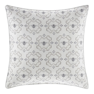 Stone Cottage Bee Medallion Square Pillow