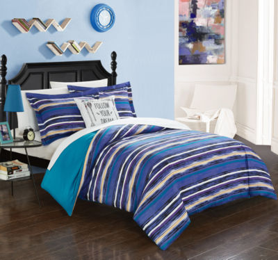 Chic Home Karan 3-pc. Duvet Cover Set