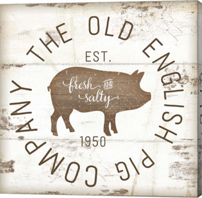 Metaverse Art The Old Pig Company II Gallery Wrapped Canvas Wall Art