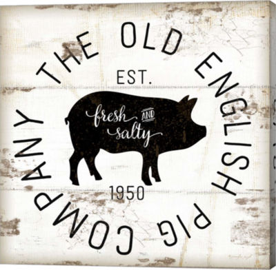 Metaverse Art The Old Pig Company Gallery Wrapped Canvas Wall Art