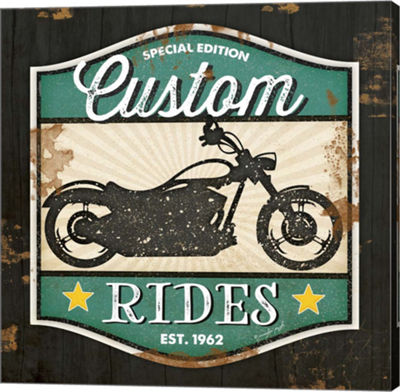 Metaverse Art Custom Rides Gallery Wrapped CanvasWall Art