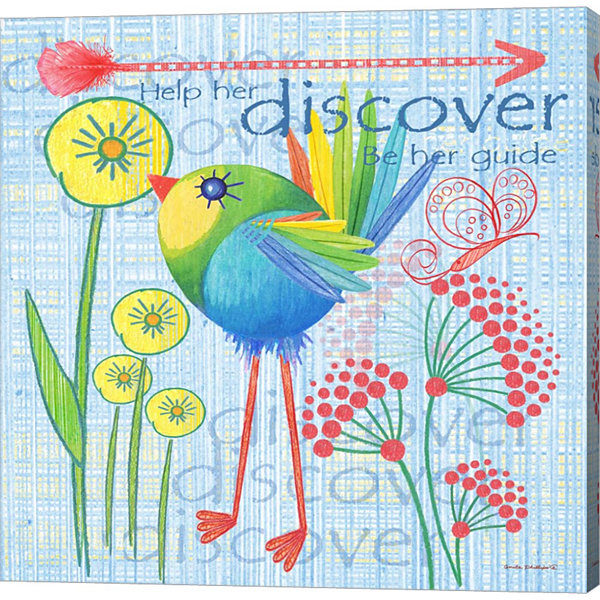 Metaverse Art Lil Bird III Gallery Wrapped Canvas Wall Art