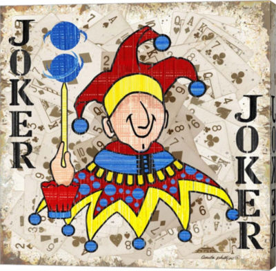 Metaverse Art Joker II Gallery Wrapped Canvas Wall Art