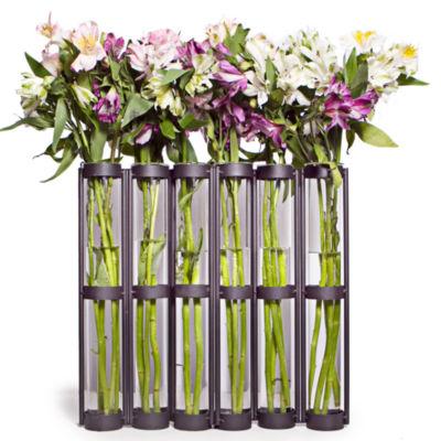 Danya B. Tall Six Tube Hinged vase