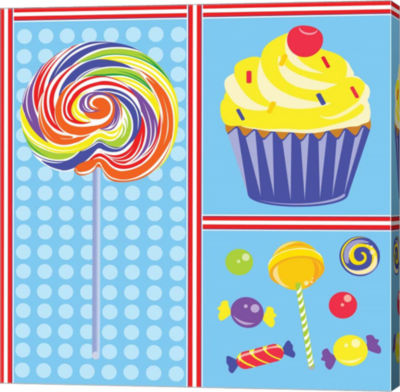 Metaverse Art Sweet Shoppe IV Gallery Wrapped Canvas Wall Art