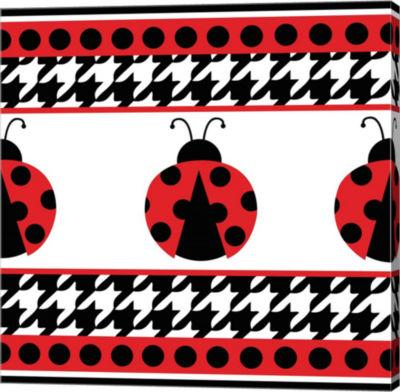 Metaverse Art Ladybug I Gallery Wrapped Canvas Wall Art