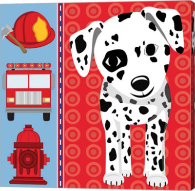 Metaverse Art Fire Emergency XI Gallery Wrapped Canvas Wall Art