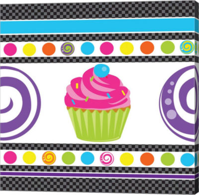 Metaverse Art Candy Craze IV Gallery Wrapped Canvas Wall Art