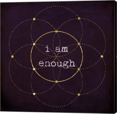 Metaverse Art I Am Enough II Gallery Wrapped Canvas Wall Art